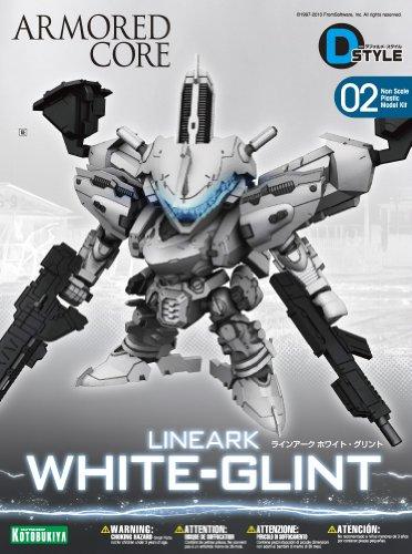 Kotobukiya Armored Core: For Answer: White Glint SD-Style Model Kit