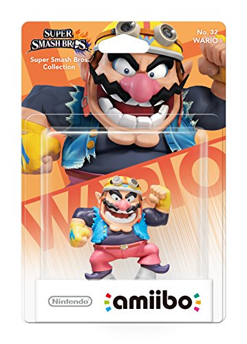 Wario amiibo - Europe/Australia Import (Super Smash Bros Series)