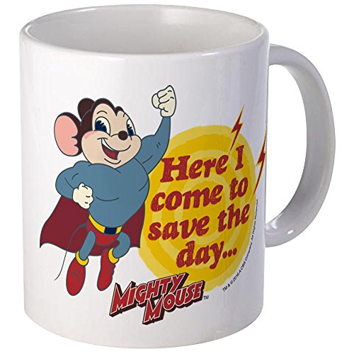 CafePress Mighty Mouse Unique Coffee