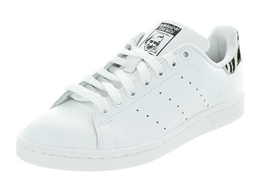 Adidas Women\u0027s Stan Smith W Cblack/Cblack/Ftwwht Casual Shoe 9 Women US