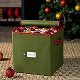 ZOBER Christmas Ornament Storage Box with