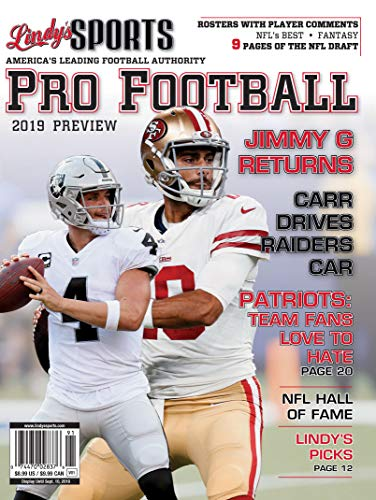 Lindy's 2019 Pro Football Preview - San Francisco 49ers / Oakland