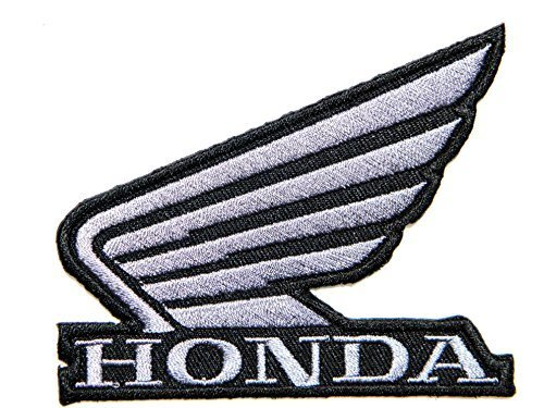 - HONDA BIG WING Motorcycle Motocross Motogp Logo Sign Biker Racing Patch Iron on Applique Embroidered T shirt Jacket Custom Gift BY SURAPAN