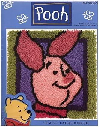 B003DHBLQE Winnie the Pooh Piglet Latch Hook Kit 13 X 13 51LBtRTDLuL.