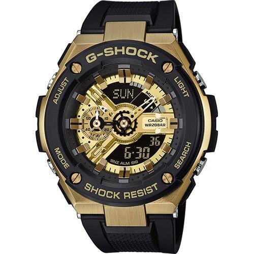 Casio Reloj Analógico-Digital para Hombre de Cuarzo con Correa en Resina GST-400G-1A9ER: Amazon.es: Relojes