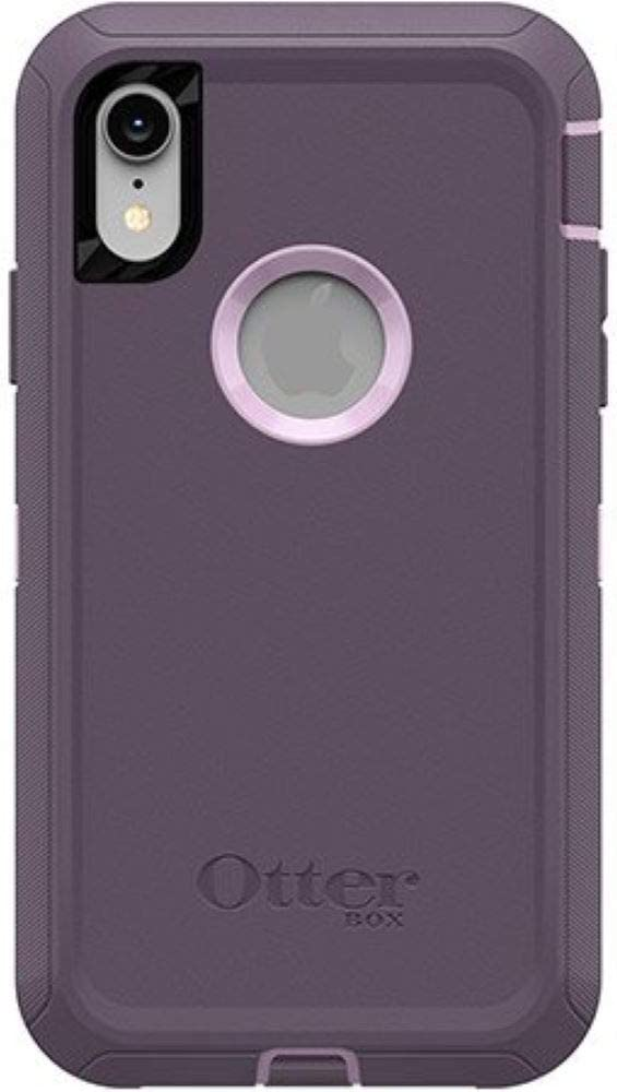 OtterBox Defender Series Case for iPhone Xr (ONLY), Case Only - Purple Nebula (Winsome Orchid/Night Purple)