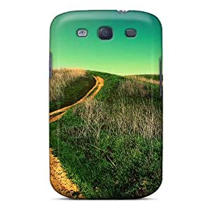 Tough Galaxy SKdbjuh3787XehPz Case Cover/ Case For Galaxy S3(uphill Road)