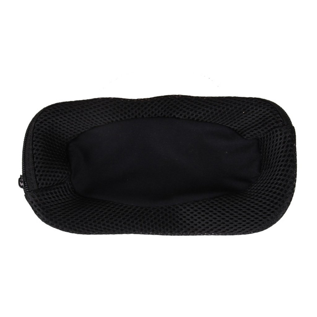 Baoblaze Durable Rectangle Sunglasses Soft Leather Glasses Case Eyewear Protector Box Goggles Safety Holder Bag