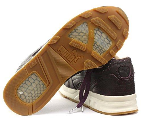 Puma Xt2 + Läder Mens Gymnastik Plommon-turtledove