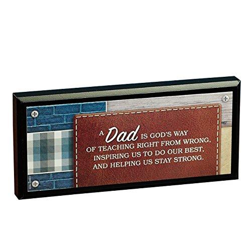 Abbey Gift Dad Mini Plaque