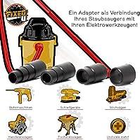 Adaptador de aspiradora para aspiradoras de taller estándar ...