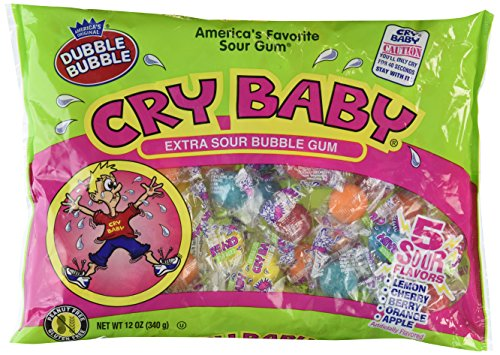 - Cry Baby Sour Bubble Gum 12oz. by Candy Crate