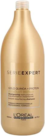 LOreal Professional Serie Expert Absolut Repair Gold Shampoo For Unisex Shampoo, 1500 ml