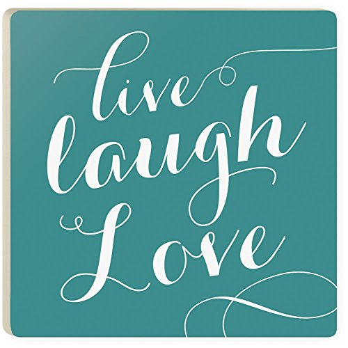 P. Graham Dunn Laughter Coasters Set of 4