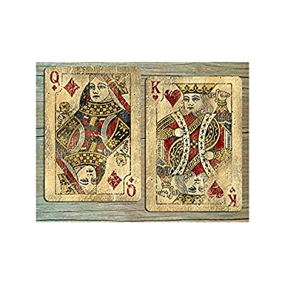 Bicycle Vintage Classic Playing Cards By Collectable Playing Cards (One Deck): Toys & Games