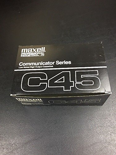 Maxell communicator series C45. 10 pack by Maxell