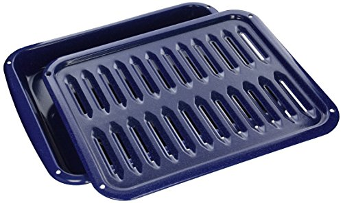 "Price comparison product image Frigidaire 5304442087 Range / Stove / Oven Broiler Pan,  1"",  BLACK"