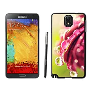 Bokeh Drops Flower Hard Plastic Samsung Galaxy Note 3 Protective Phone Case