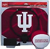 NCAA Indiana Hoosiers Kids Slam Dunk Hoop Set, Red, Small