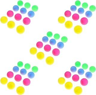 Homyl Lot de 60pcs 40mm Balles de Tennis de Table Ping-Pong Beer Pong Accessoire Jeu Intérieur