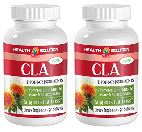 Cla safflower oil diet - CLA 1250mg - enhance immunity (2 bottles)