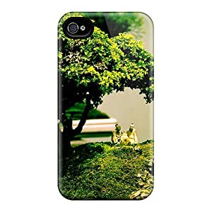 LYN723oZew Case Cover Bonsai Naturex Iphone 4/4s Protective Case