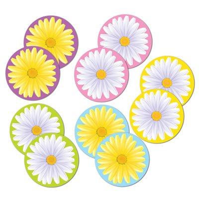 Pkg Daisy - Mini Daisy Cutouts   (10/Pkg)