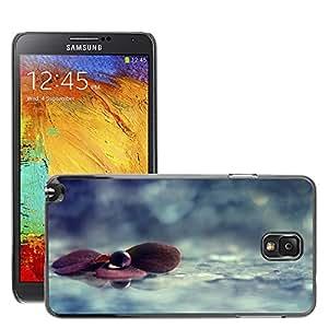 Super Stellar Slim PC Hard Case Cover Skin Armor Shell Protection // M00049799 macro aero drop on purple water // Samsung Galaxy NOTE 3
