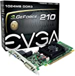 EVGA GeForce 210 1024 MB DDR3 PCI Express 2.0 DVI/HDMI/VGA Graphics