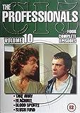 The Professionals: Vol. 10 (Take Away / Black Out / Blood Sports / Slush Fund) [DVD] [1980]