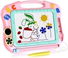 Magna Doodle Girls Toys Age 2-7, Magnetic Doodle Board for Girls Birthday Present for 3-6 Year Old Girls 2-5 Year Old...