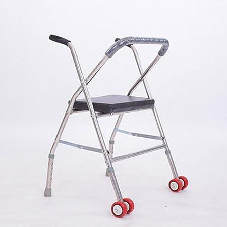 SCZLSYL Andador con andador de acero inoxidable, ayudas para ...