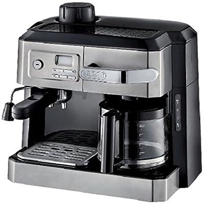 Carterwe Coffee Drip Espresso Maker Tray Machine Black Cappuccino Combination Brewer