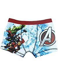 Cartoon Character Products Marvel Avengers Assemble Boys Boxer Shorts - 4-10 Years