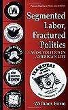 Segmented Labor, Fractured Politics 9780306450310