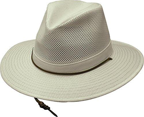 Henschel Aussie Cotton Mesh Breezer Balaclavas, Natural, Small