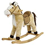 Rockin' Rider 5-20401M Derby Rocking Horse Ride On, Beige