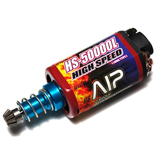 AEG Airsoft Wargame Shooting Gear AIP AIP006 High Speed AEG Motor HS-50000 (Long Type)