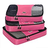 eBags Large Packing Cubes - 3pc Set (Peony)