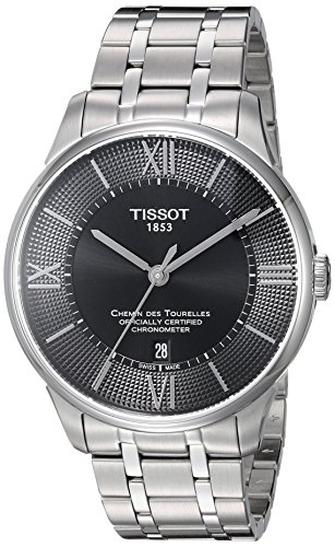 Tissot Men's 'T-Classic' Swiss Stainless Steel Automatic Watch, Color:Silver-Toned (Model: T0994081105800)