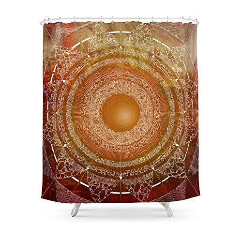 Society6 Svadhisthana (carnal Knowledge) Shower Curtain 71'' by 74'' by Society6