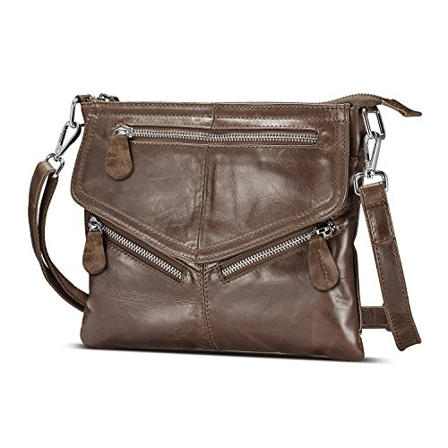 Lecxci Vintage Leather Handbags Crossbody