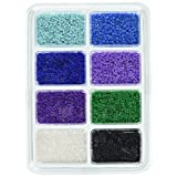 Perler Beads 80-17526 Mini Beads Tray, Cool