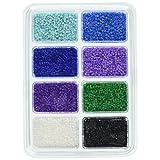 Perler Beads 80-17526 Mini Beads Tray, Cool