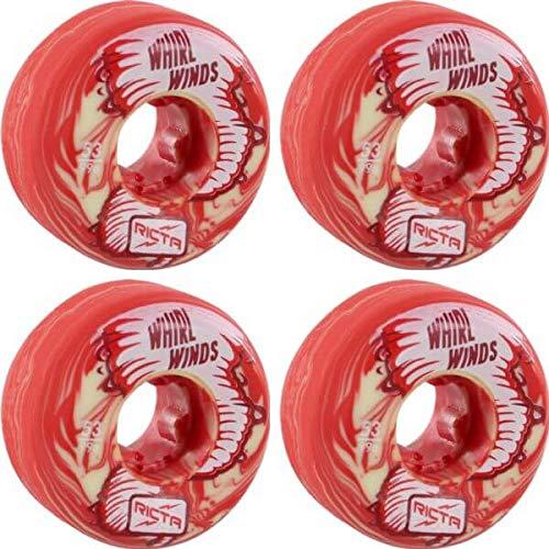 大注目 Ricta Wheels Whirlwinds レッド/ホワイト スワール Whirlwinds スケートボードホイール - 53mm 99a B07HRL4W7N 99a (4個セット) B07HRL4W7N, EsteeGrace:ab71fa5e --- mvd.ee