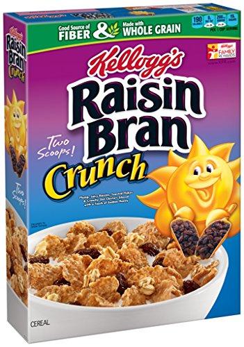 Kellogg's Raisin Bran Crunch, 18 Ounce (Pack of 12) ()