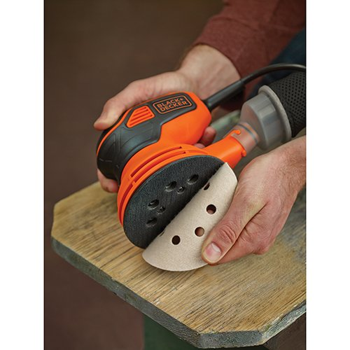 BLACK+DECKER BDERO600 Random Orbit Sander with Paddle Switch Actuation by BLACK+DECKER (Image #2)