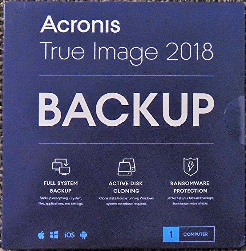 Acronis True Image 2018 1- Device (CD SLEEVE)