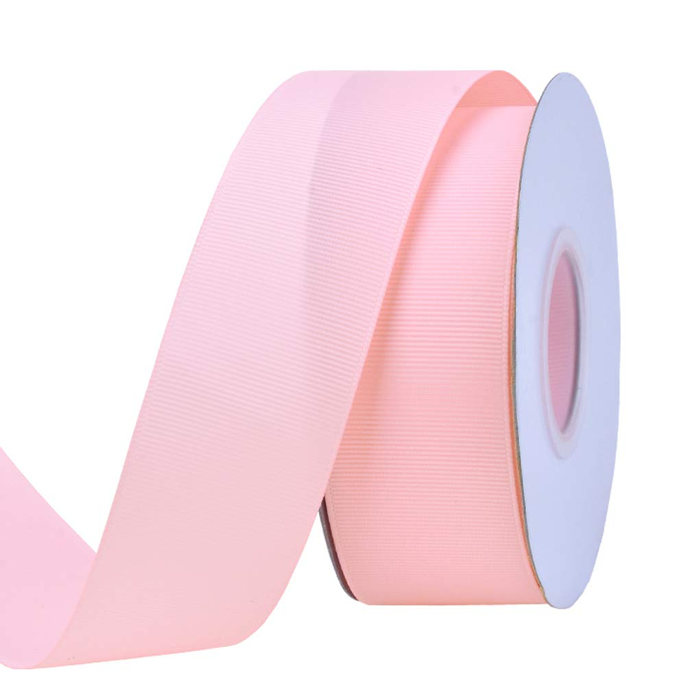 1-1//2-Inch by 50-Yard Fuchsia Creative Ideas Solid Grosgrain Ribbon