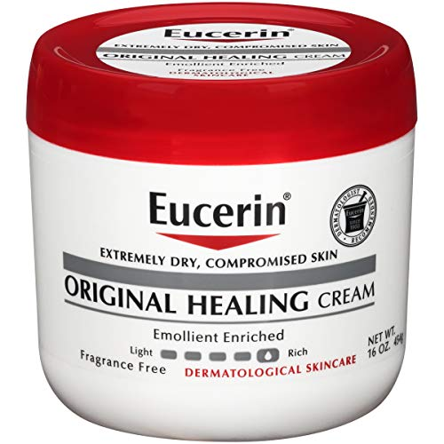Eucerin Original Healing Rich Creme 16 oz (Pack of 2)